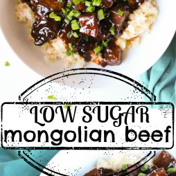 Low Sugar Mongolian Beef