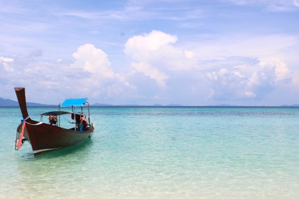 Bamboo Island, Thailand - Healthy Eating Tips for International Travel   by Stacey Mattinson