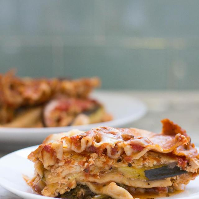 High Protein Vegetarian Crock Pot Lasagna  by Stacey Mattinsonhellip