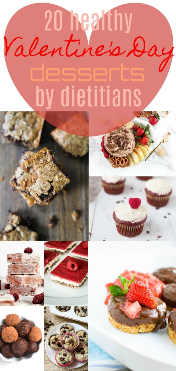 Looking for healthy Valentine's Day dessert inspo? Check out these 20 Healthy Valentine's Day Desserts by Dietitians | Healthy Valentine's Day Desserts by Stacey Mattinson Nutrition