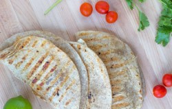 Whole Wheat Chicken Quesadillas - Stacey Mattinson Nutrition