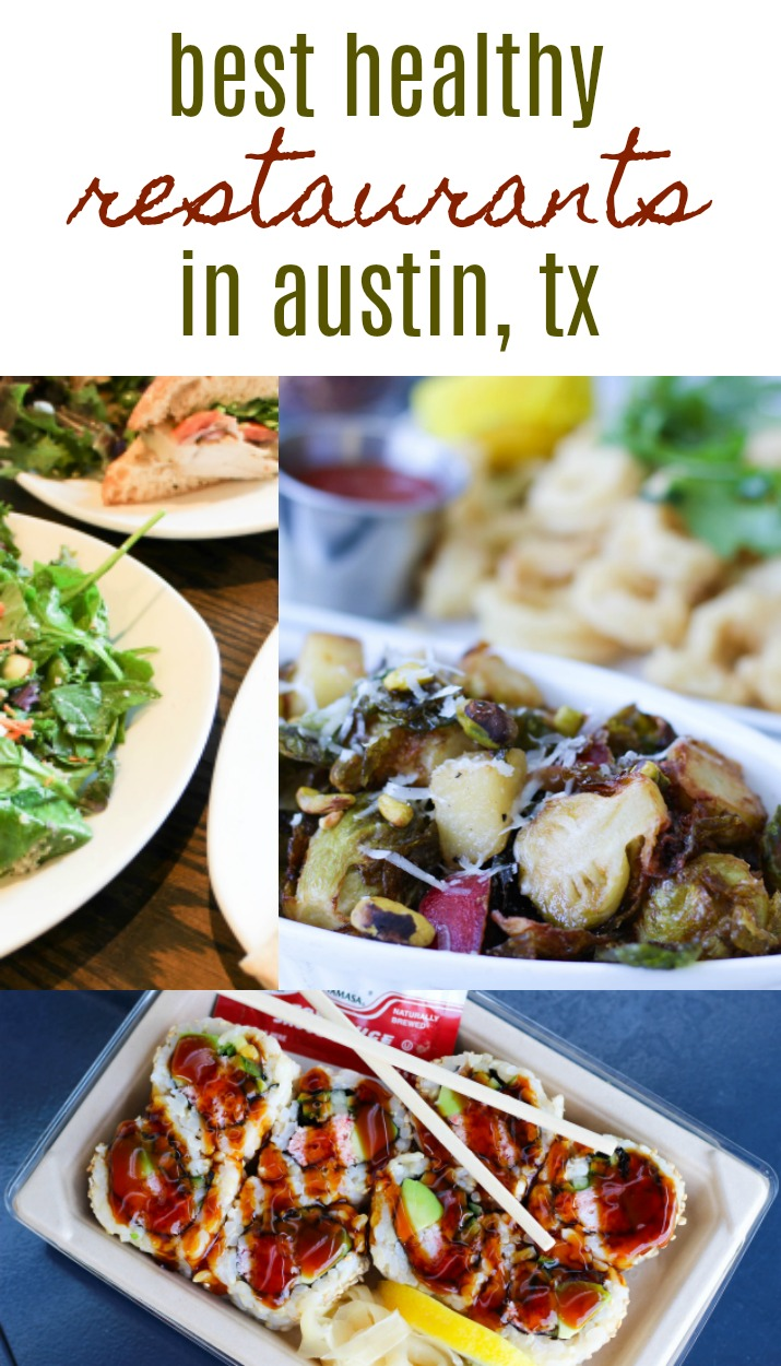 Want good grub without ditching all your health goals? Check out these great, healthy restaurants in Austin, Texas! | Healthy Restaurants in Austin by Stacey Mattinson Nutrition
