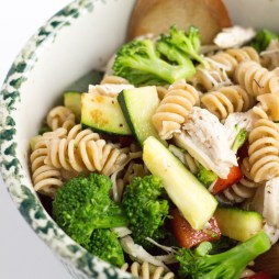 Whole Wheat Pasta Salad