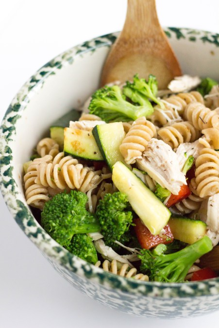 Whole Wheat Pasta Salad | Stacey Mattinson Nutrition