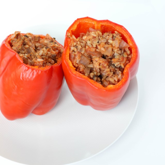 Turkey Stuffed Bell Pepper