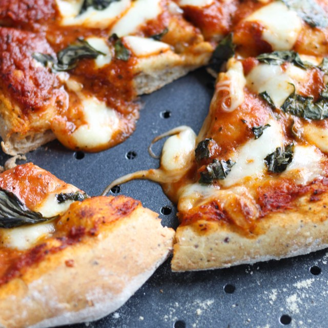 Homemade Margherita Pizza | Stacey Mattinson Nutrition