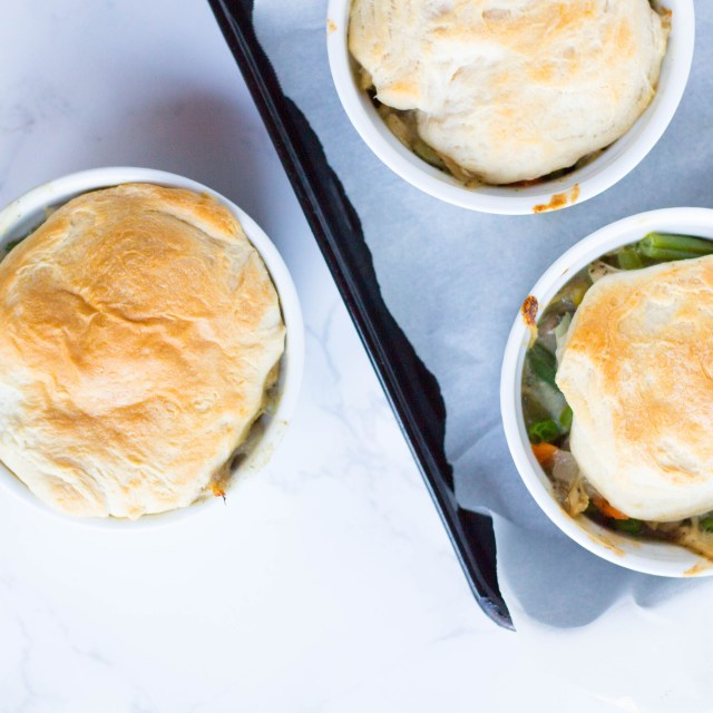 Healthier Chicken Pot Pie