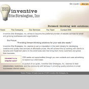 Inventive Site Strategies, Inc Website