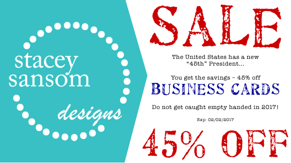 Stacey Sansom Designs 45% off Sale