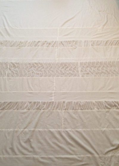 Pieced Quilt top for the Special White Quilt made by Stacey Sansom Designs
