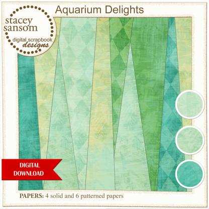 Aquarium Delights Paper Pack