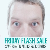 Friday Flash Sale | 35% off all ice pack covers | Shop | Stacey Sansom Designs