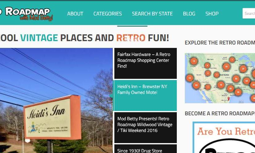 "<a target=""_blank"" href=""http://retroroadmap.com/"">Retro Road Map charts vintage destinations from all over the USA</a>"