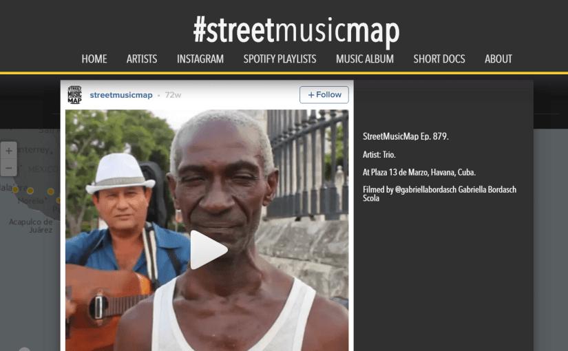 StreetMusicMap charts the world's street musicians