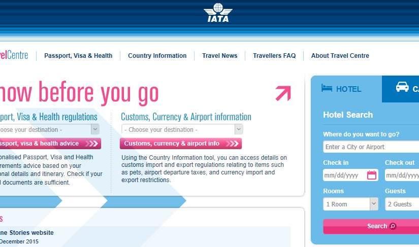 """<a target=""""_blank"""" href=""""http://www.iatatravelcentre.com/"""">IATA Travel Centre checks your travel documents</a>"""