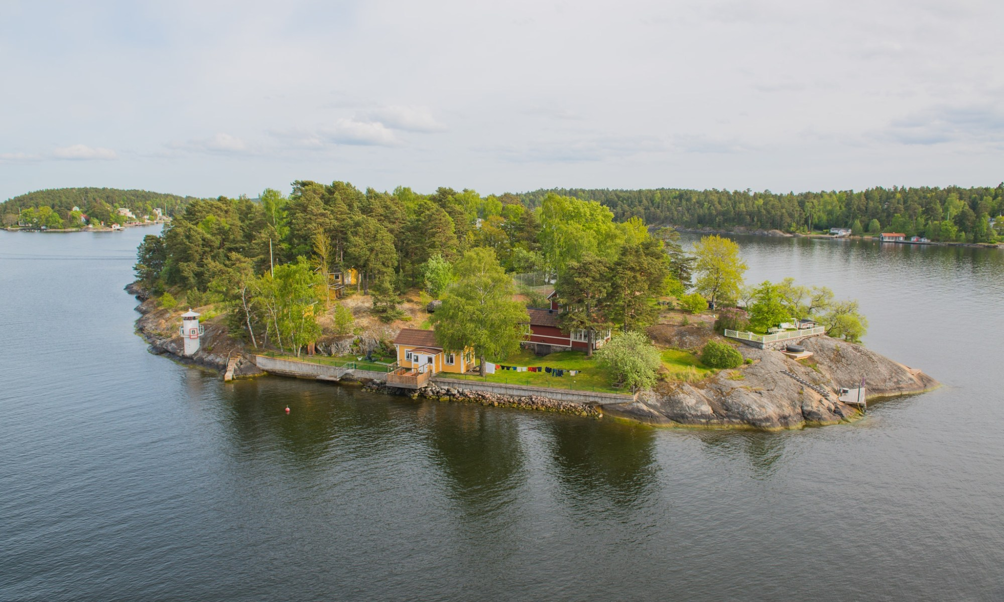 An island in Sweden