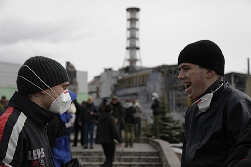 Chernobyl tourists