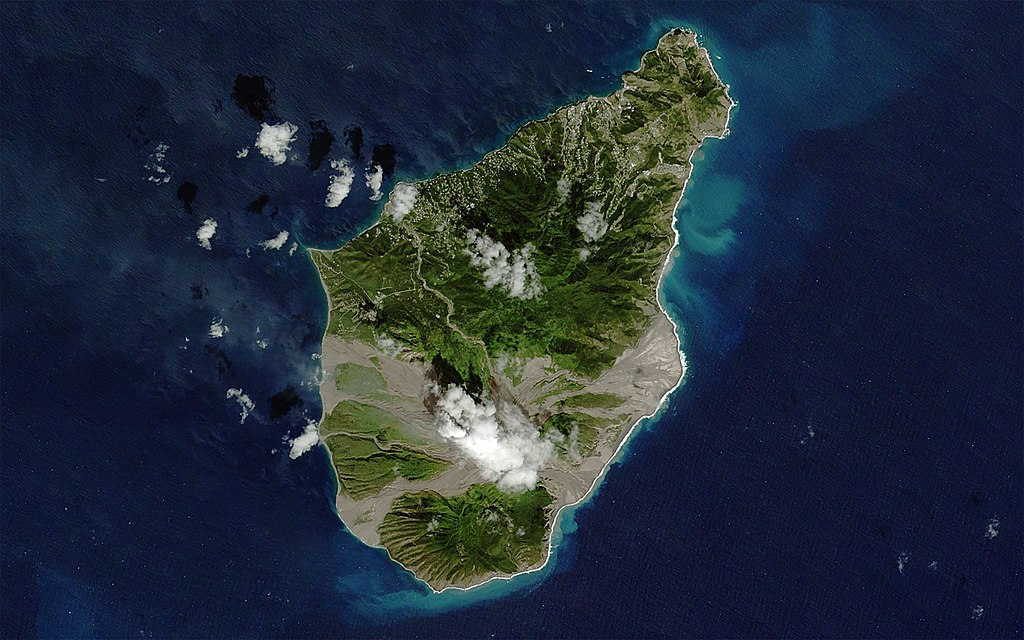 Montserrat from space