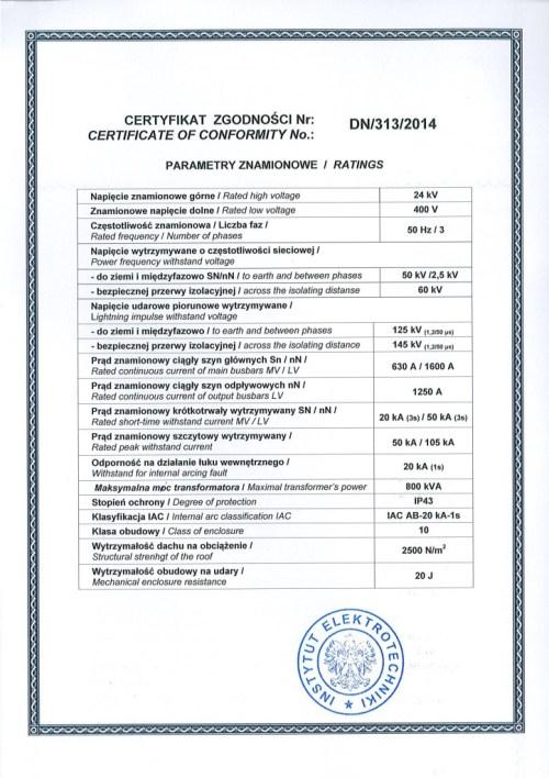 certyfikat-instytutu-elektrotechniki-druga-strona