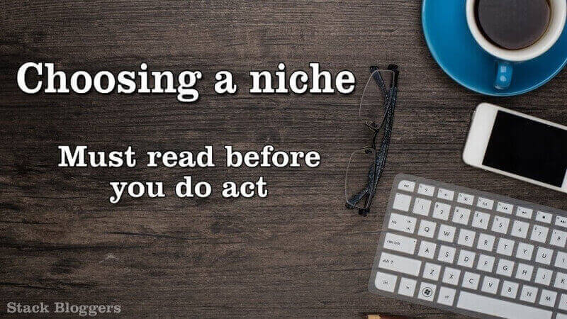 Choosing a niche for your website