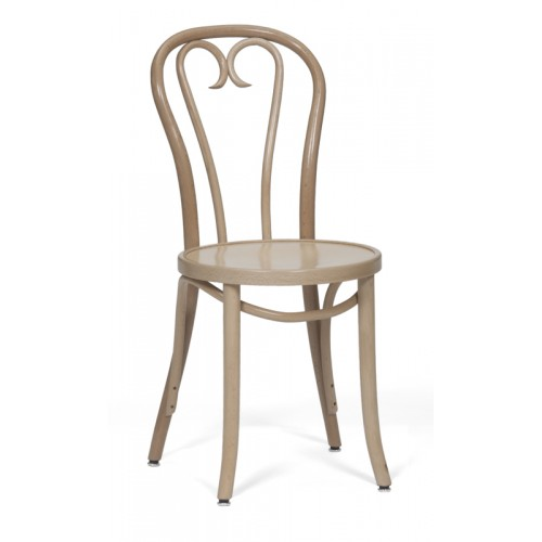 T19 Side Chair Beach Wood Finish