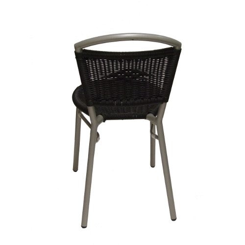 wicker side chair