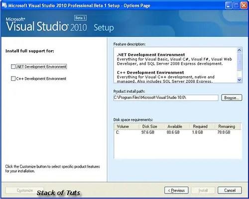 Visual Studio Download 2010 | Visual Studio Installation Guide