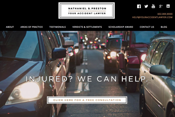 your accident lawyer website