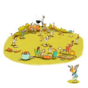Stacy Ebert Illustration—Hello World! picture book