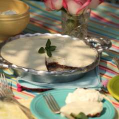 Key Lime Pie is one of the tastiest and easiest pies ever!