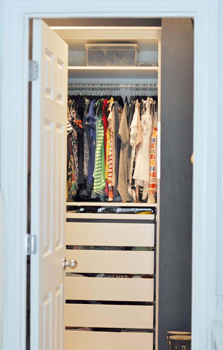 Ikea Pax Built In Master Closet Reveal