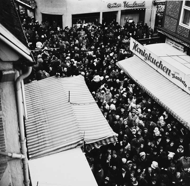 Weihnachtsmarkt 1967