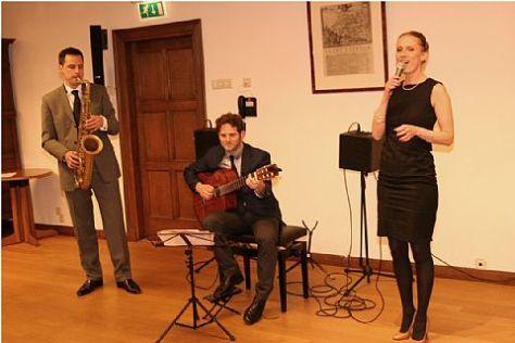 Muziek bij uitreiking Emil Ludenpenning 2013