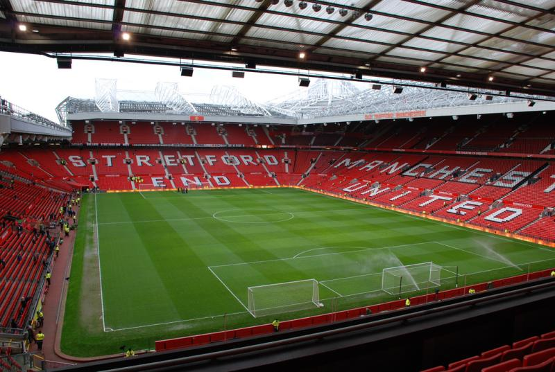 Image result for manchester united stadium