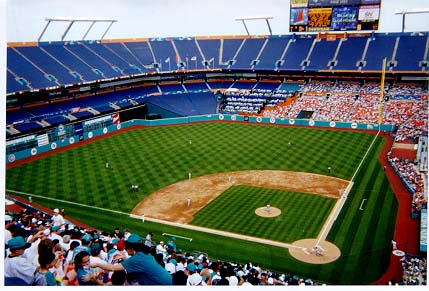 Image result for Joe Robbie Stadium for Baseball