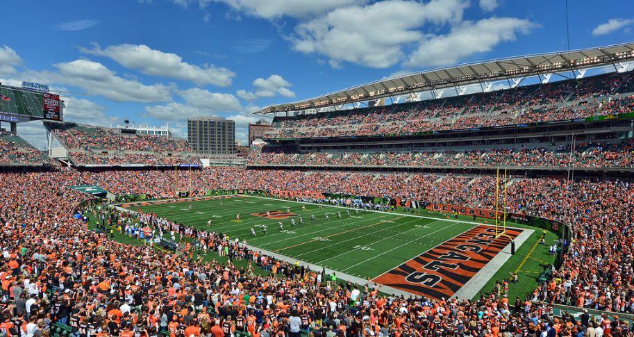 Paul Brown Stadium, Cincinnati Bengals football stadium - Stadiums of Pro Football