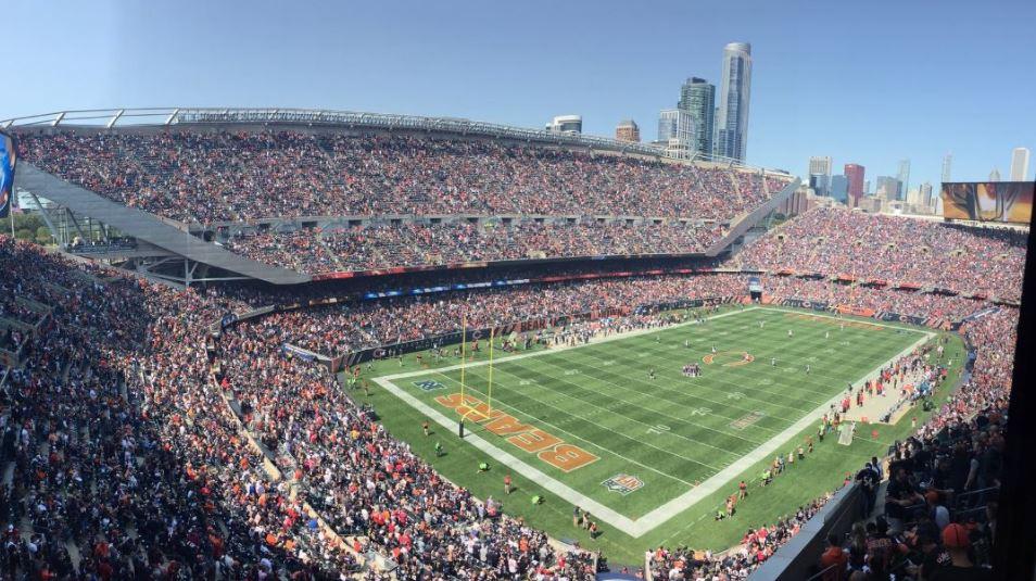 Soldier Field, Chicago Bears football stadium - Stadiums of Pro Football