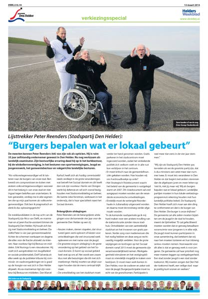 verkiezingskrant 13 maart helders weekblad 2