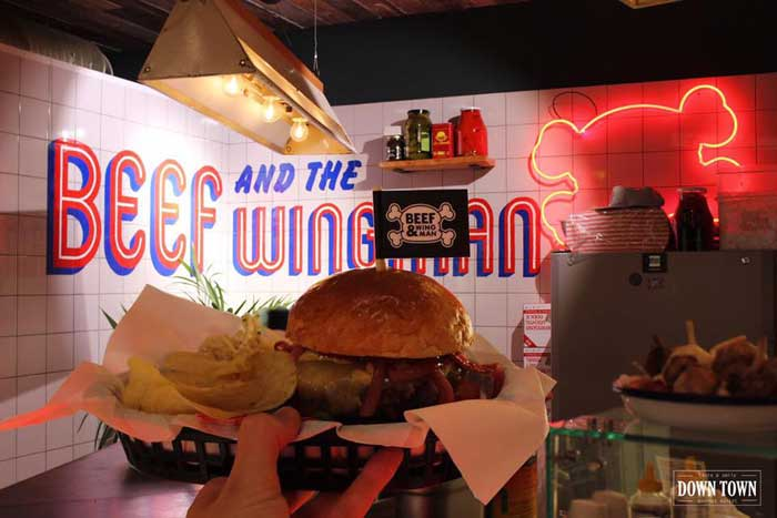 beef and the wingman down town gourmet market