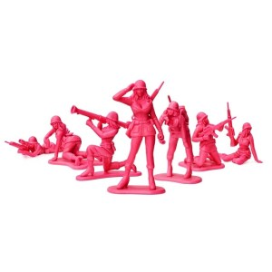 Pink Army Women and Happy New Year