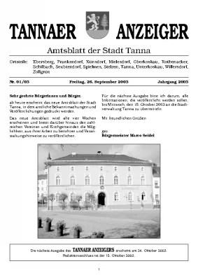Anzeiger September 2003