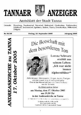 Amtsblatt September 2005
