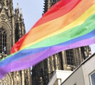 Christopher street day 2015 in Köln