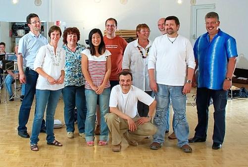 Vorstand und Dirigentin 2011