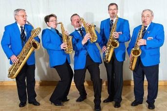 Saxophones in action