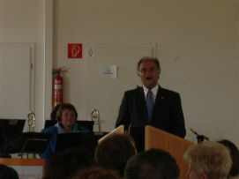 Bürgermeister Jakoby - Unser Festredner bei der Laudatio