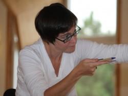 Kerstin Assmann-Schulz zeigt uns wo es lang geht