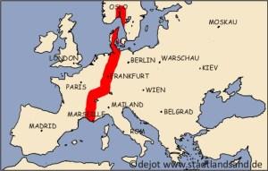 Die Mittelmeer-Mjösen-Zone