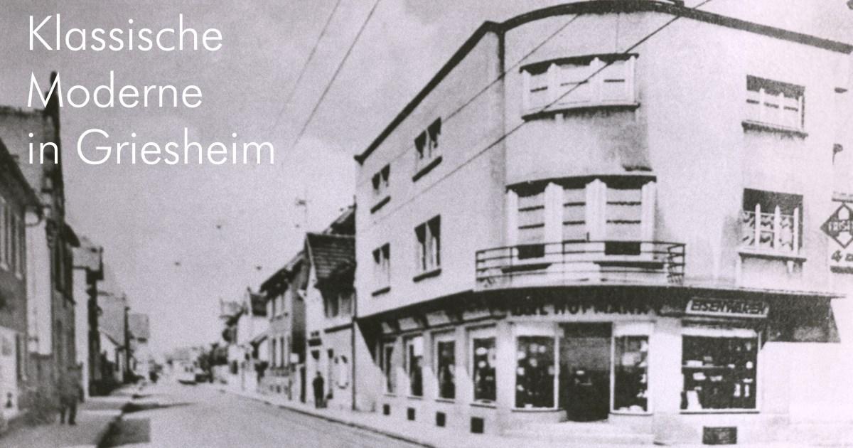 Klassische Moderne in Griesheim