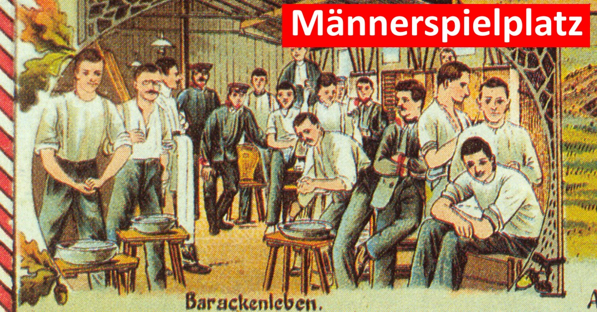 Männerspielplatz